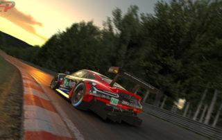 Newman-Simracing Porsche RSR