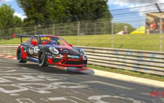 Newman-Simracing Porsche Cup